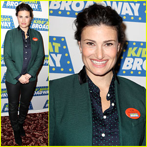 Frozen's Idina Menzel Sings 'Tomorrow' at Broadway Event!