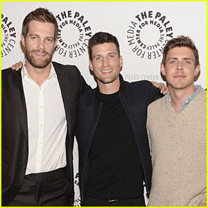 Geoff Stults & Chris Lowell: 'Enlisted' L.A. Premiere!