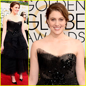 Greta Gerwig - Golden Globes 2014 Red Carpet