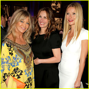 Gwyneth Paltrow & Julia Roberts - Help Haiti Home Gala 2014