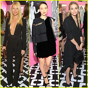Gwyneth Paltrow & Rooney Mara: Journey of A Dress Exhibition Opening!