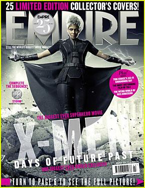 Halle Berry Shows Lightning Power on New 'X-Men' Magazine Cover!