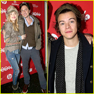 Harry Styles Supports 'Wish I Was Here' Cast at Sundance!