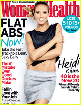 Heidi Klum to 'Women's Health': 'I've Always Felt Great About My Body'