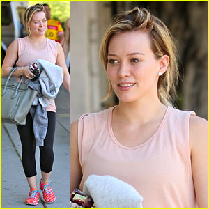 Hilary Duff: 'Don't Believe the Sh-t You Read!'