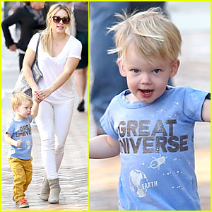 Hilary Duff: It's a Great Universe with Luca!