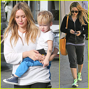 Hilary Duff: Late Studio Session Working on New Song 'Hurts'!
