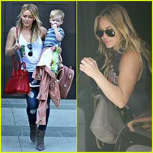 Hilary Duff Steps Out Without Wedding Ring