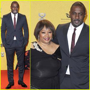 Idris Elba Brings Special Guest to 'Mandela' Berlin Premiere: Nelson Mandela's Daughter Zindzi!