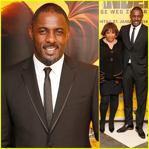 Idris Elba: Nelson Mandela Charity Gala with Zindzi Mandela!