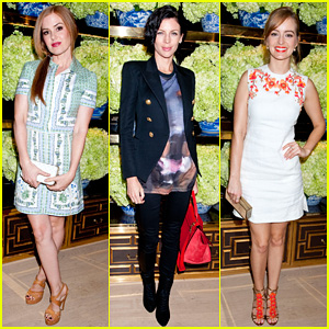Isla Fisher & Ahna O'Reilly: Tory Burch Flagship Store Opening!