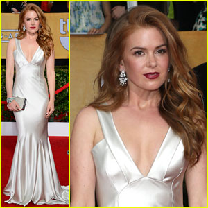 Isla Fisher - SAG Awards 2014 Red Carpet