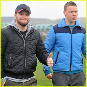 Jack Reynor & Will Poulter Begin Filming 'Glassland'!