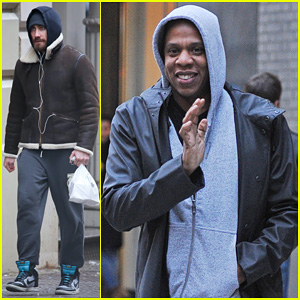 Jake Gyllenhaal & Jay Z: Meatpacking District Meeting!