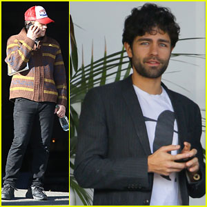 James Franco: WeHo Business Lunch with Adrian Grenier
