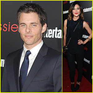 James Marsden & Jessica Szohr: EW SAG Nominees Party!