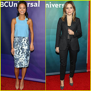 Jamie Chung & Sophia Bush: NBC TCA 2014 Press Tour Panels!