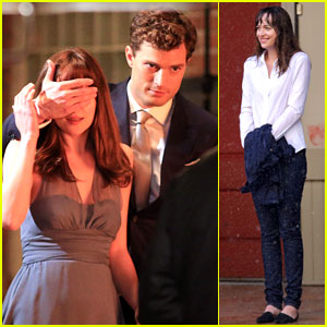 Jamie Dornan & Dakota Johnson: Anastasia Gets Her New Car!