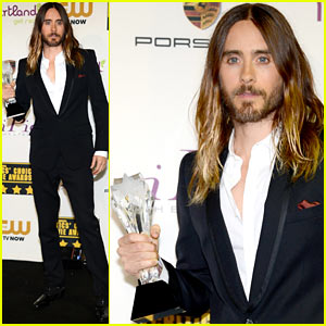 Jared Leto - Critics' Choice Movie Awards 2014