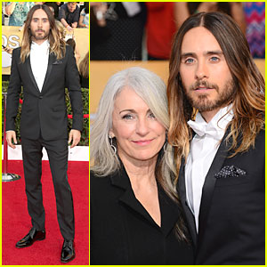 Jared Leto - SAG Awards 2014 Red Carpet with Mom Constance