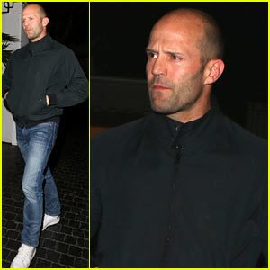 Jason Statham Spends Evening Out at the Chateau Marmont!