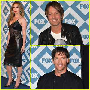 Jennifer Lopez & Keith Urban: Fox All-Star Party 2014!