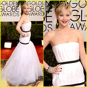 Jennifer Lawrence - Golden Globes 2014 Red Carpet