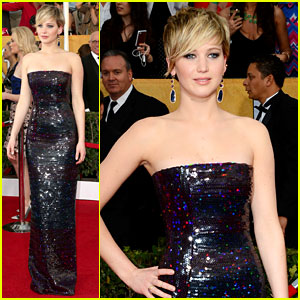 Jennifer Lawrence - SAG Awards 2014 Red Carpet