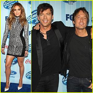 Jennifer Lopez & Keith Urban: 'American Idol' XIII Season Premiere!