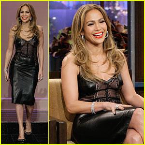 Jennifer Lopez Talks First 'Tonight Show with Jay Leno' Apperance