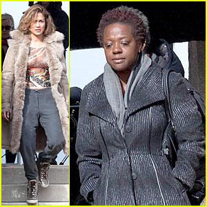 Jennifer Lopez & Viola Davis Start Shooting 'Lila & Eve'!