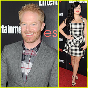 Jesse Tyler Ferguson & Ariel Winter: EW SAG Nominees Party!
