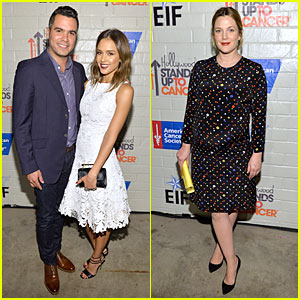 Jessica Alba & Drew Barrymore: Moms Stand Up to Cancer!