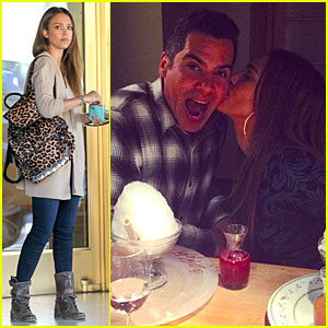 Jessica Alba Kisses Cash Warren on His 35th Birthday!