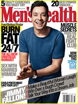 Jimmy Fallon Gives Dating Advice to 'Men's Health' March 2014