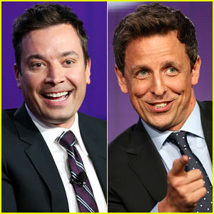 Jimmy Fallon & Seth Meyers Reveal First Guests for Their Late Night Talk Shows!