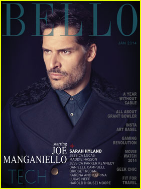Joe Manganiello Covers 'Bello' Magazine January 2014