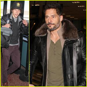 Joe Manganiello & Jesse Eisenberg: Sundance Film Festival Arrival!