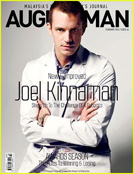 Joel Kinnaman Covers 'August Man Malaysia' February 2014