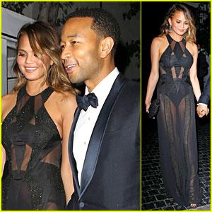 John Legend & Chrissy Teigen: Grammys 2014 After Party!