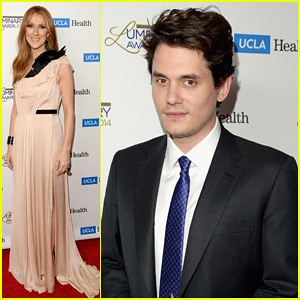 John Mayer & Celine Dion: UCLA Luminary Awards 2014!
