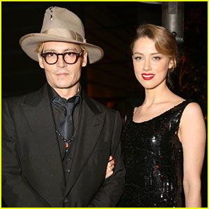 Johnny Depp & Amber Heard - Art of Elysium Heaven Gala