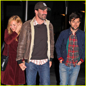 Jon Hamm & Jennifer Westfeldt: Double Date with Adam Scott!