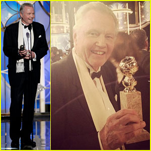 Jon Voight WINS TV's Best Supporting Actor at Golden Globes!