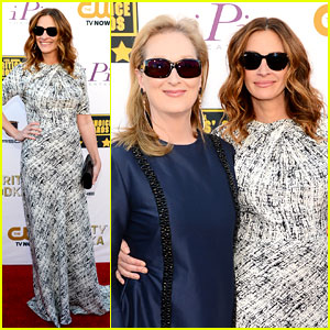 Julia Roberts & Meryl Streep - Critics' Choice Awards 2014