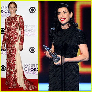 Julianna Margulies & Stana Katic - People's Choice Awards 2014