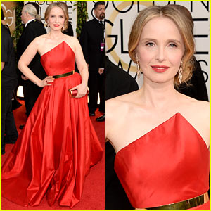 Julie Delpy - Golden Globes 2014 Red Carpet