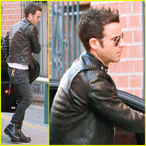 Justin Theroux Runs Errands After 'The Leftovers' TCA Panel!