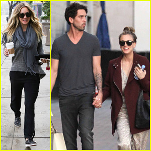 Kaley Cuoco Steps Out with Ryan Sweeting After the PCAs!