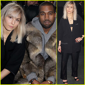 Kanye West & Noomi Rapace: Givenchy Menswear Show!
